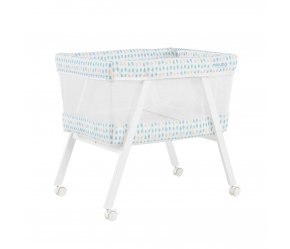 Micuna Mini Fresh с текстилем МО-1560 (Микуна Мини Фреш), white/aquamarine